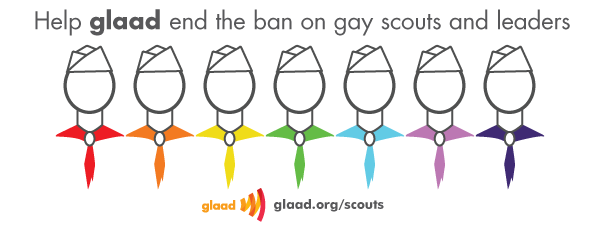 Help GLAAD end the ban on gay scouts and leaders