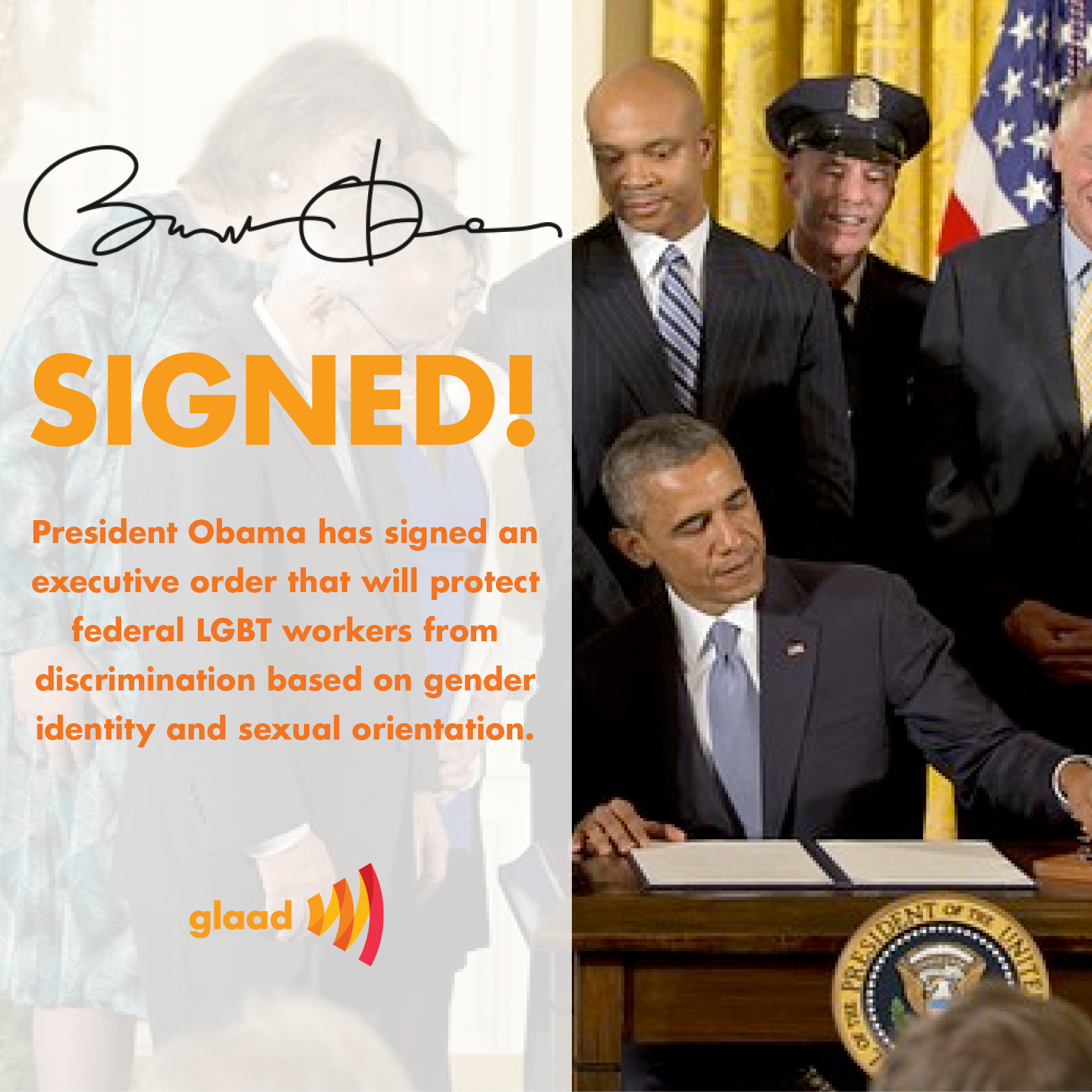 Executive Privilege And Presidential Aides: President Obama Signs Executive Order Protecting LGBT