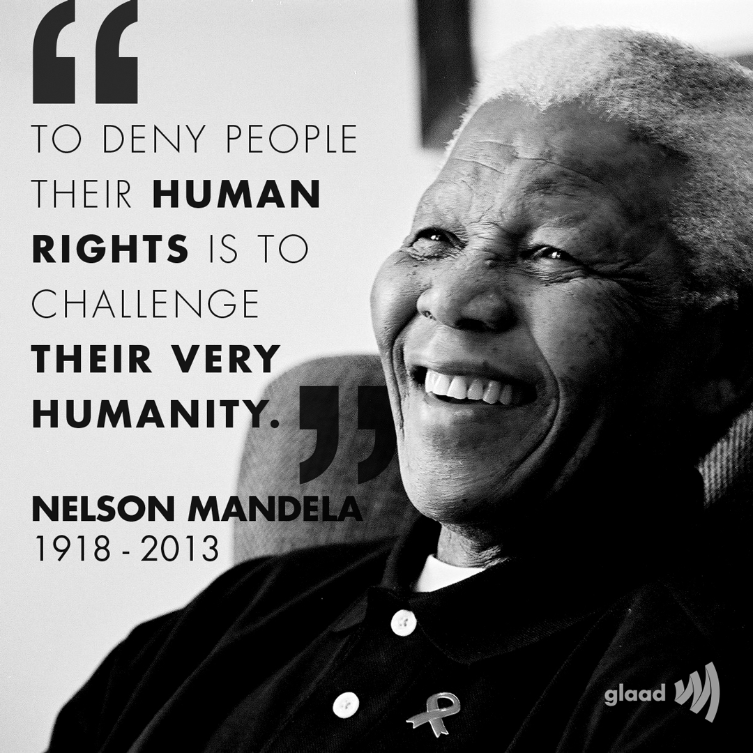 nelson mandelas struggle for peace and equality of all races Nelson mandela biography full name nelson nelson mandela if you want to make peace people by race a new law allows all races equal rights.
