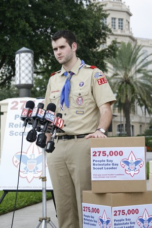 video eagle scout renounces rank in opposition to anti