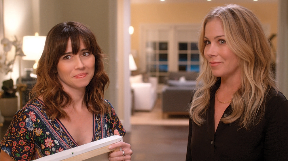 image of Linda Cardellini and Christina Applegate from Netflix's Dead to Me