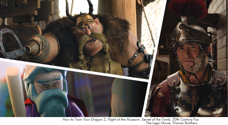 How to Train Your Dragon 2, Night at the Museum: Secret of the Tomb, The Lego Movie