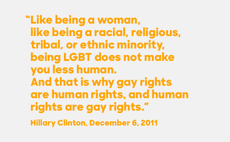 Hillary Clinton celebr... Quotes About Making A Difference