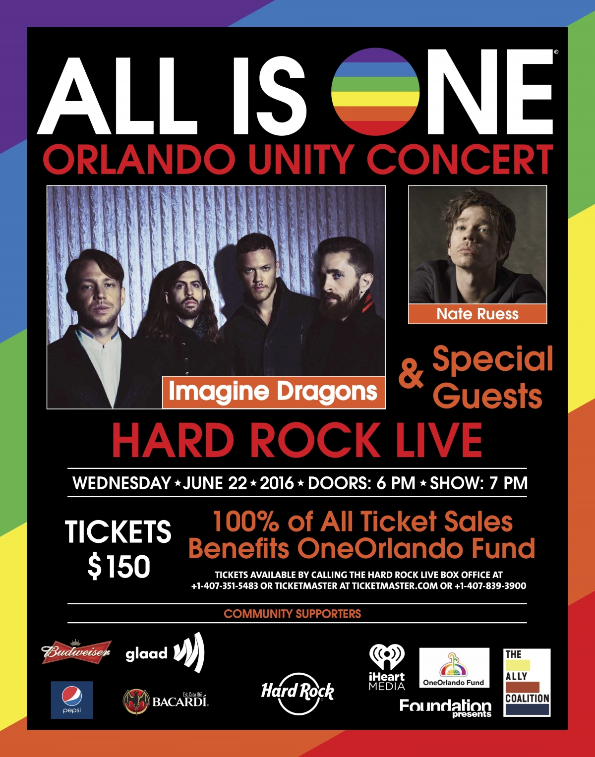 All Is One Orlando Concert