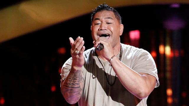 Esera Tuaolo on Season 13 of The Voice