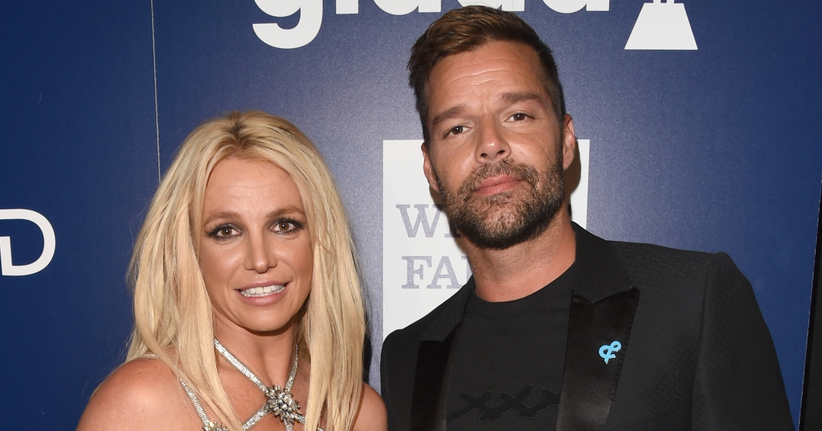 Ricky martin presents britney spears with the vanguard award at 29th while presenting the vanguard award ricky martin acknowledged the role glaad played in his own inspirational coming out story after becoming a father to m4hsunfo