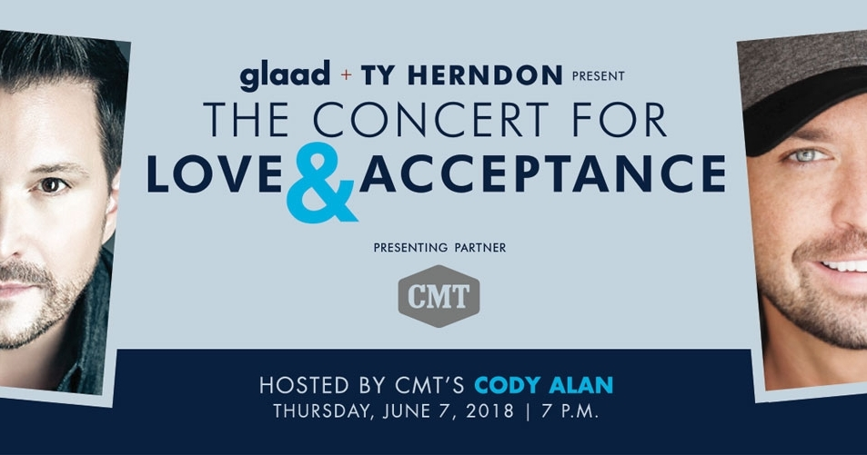 GLAAD and country star Ty Herndon set to bring 3rd Concert
