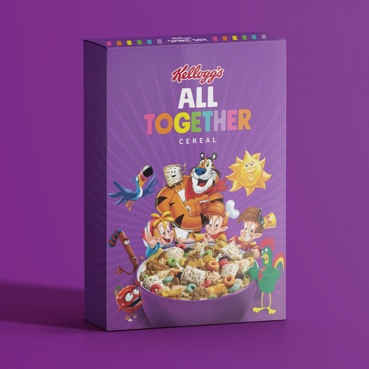 Kellogg's And GLAAD Launch Special Edition 'All Together