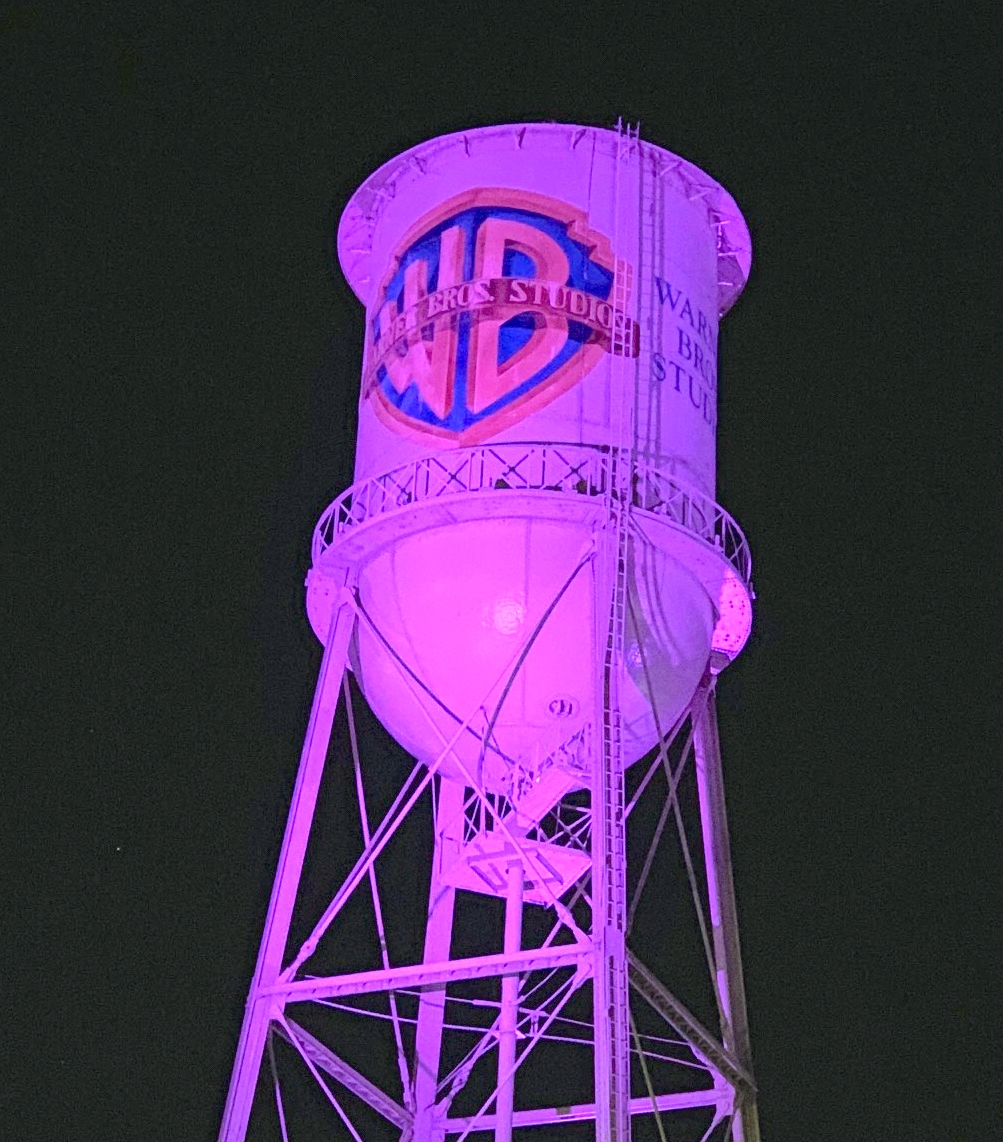 WB Water tower Spirit Day 2019 (clearer)