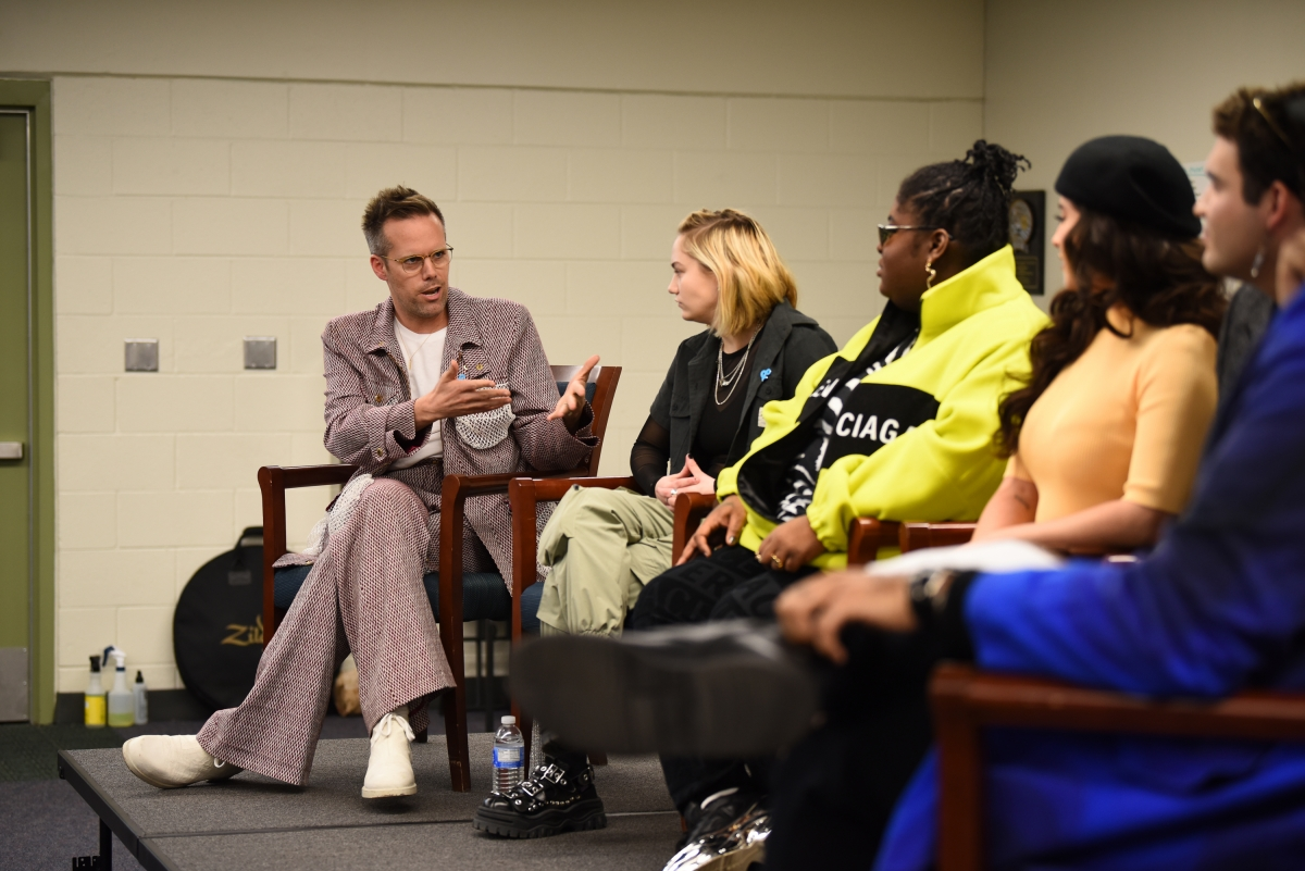 Music In Action LBGTQ Voices In Music - Justin Tranter