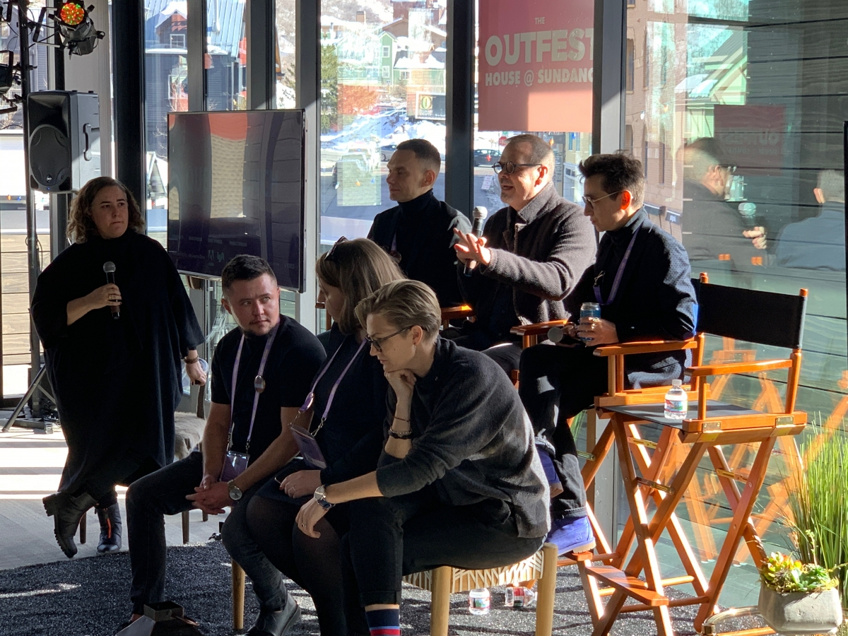 Welcome to Chechnya at Outfest House Sundance 2020