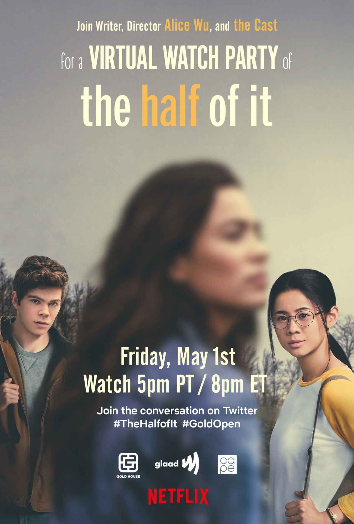 The Half Of It_WatchParty_Invitation