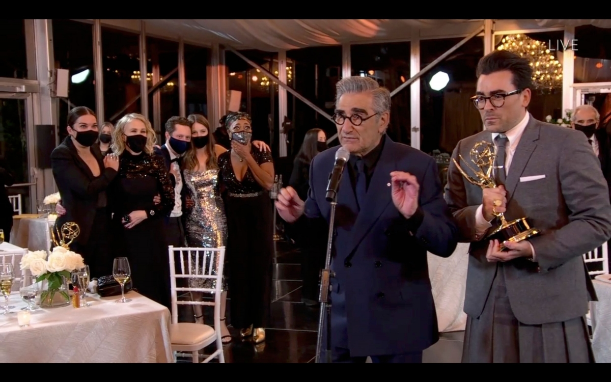 Schitt's Creek win at Emmys