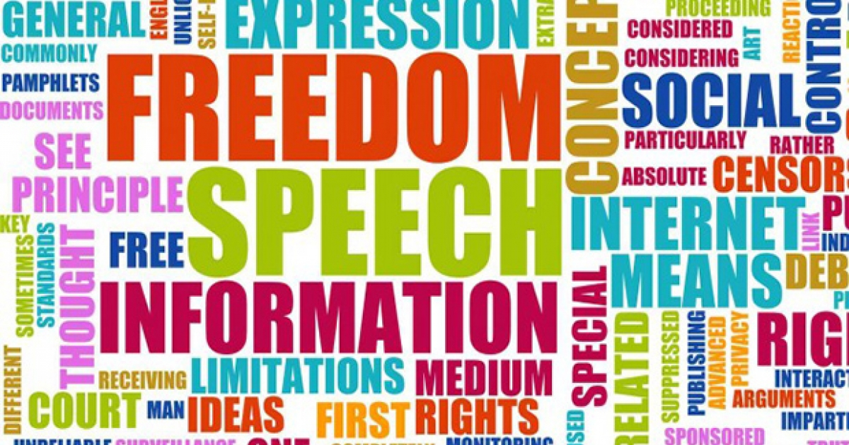 the importance of the concept of truth in the freedom of expression Freedom of speech the right, guaranteed by the first amendment to the us constitution, to express beliefs and ideas without unwarranted government restriction democracies have long grappled with the issue of the limits, if any, to place on the expression of ideas and beliefs.
