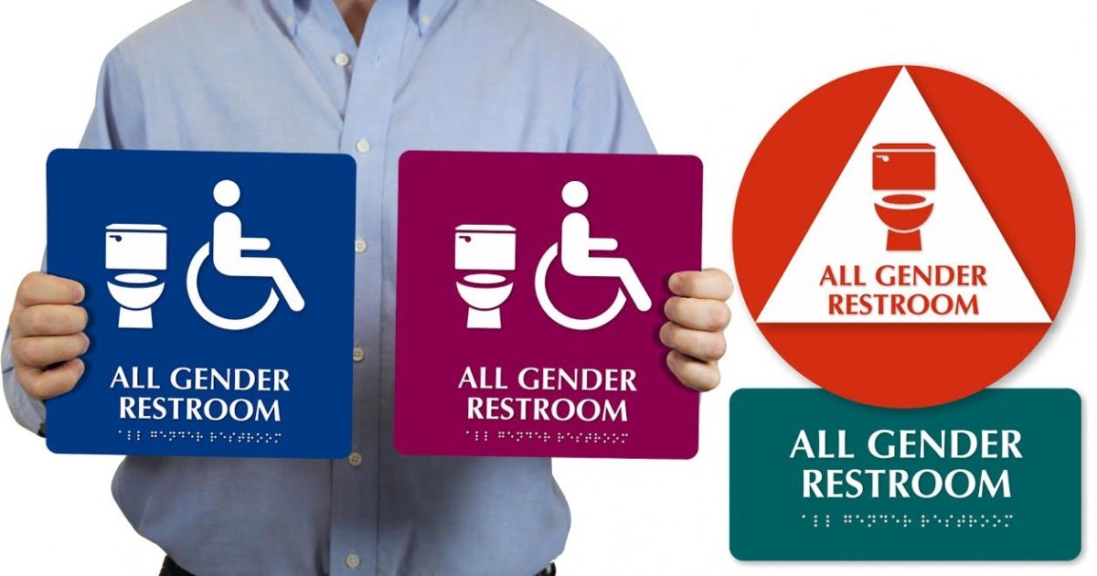 Donating All Gender Bathroom Signs To College Campuses Glaad
