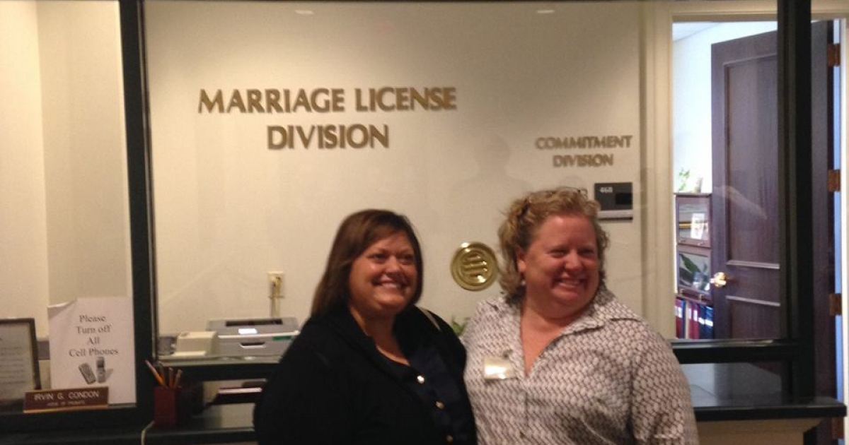 Charleston Councilwoman First To Obtain Marriage License