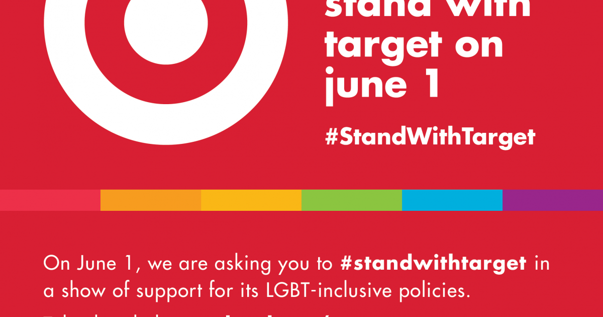 Take The Pledge Standwithtarget On June 1 As Lgbt Pride