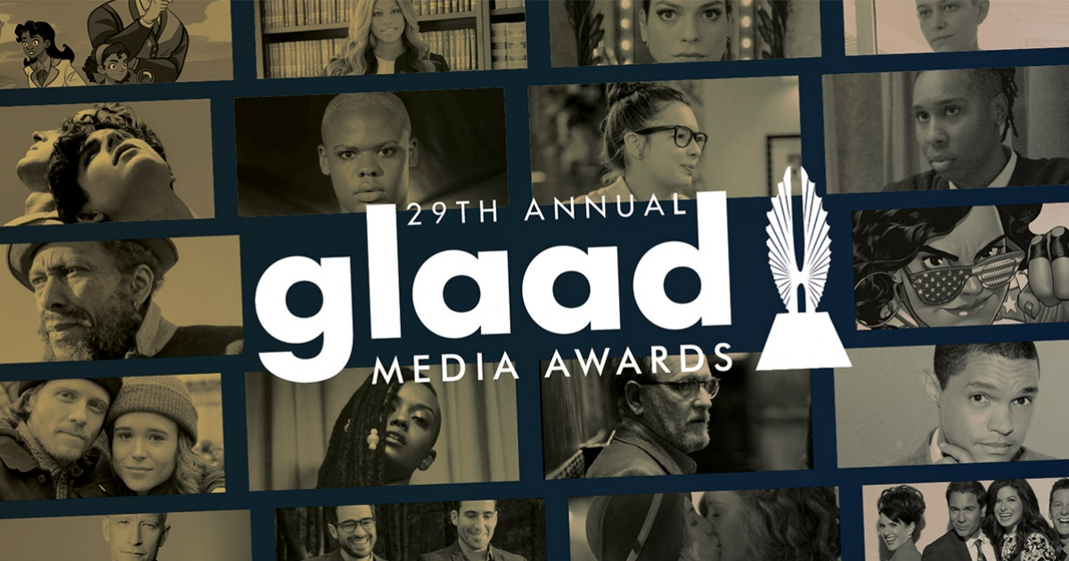 Image result for glaad media awards 2018