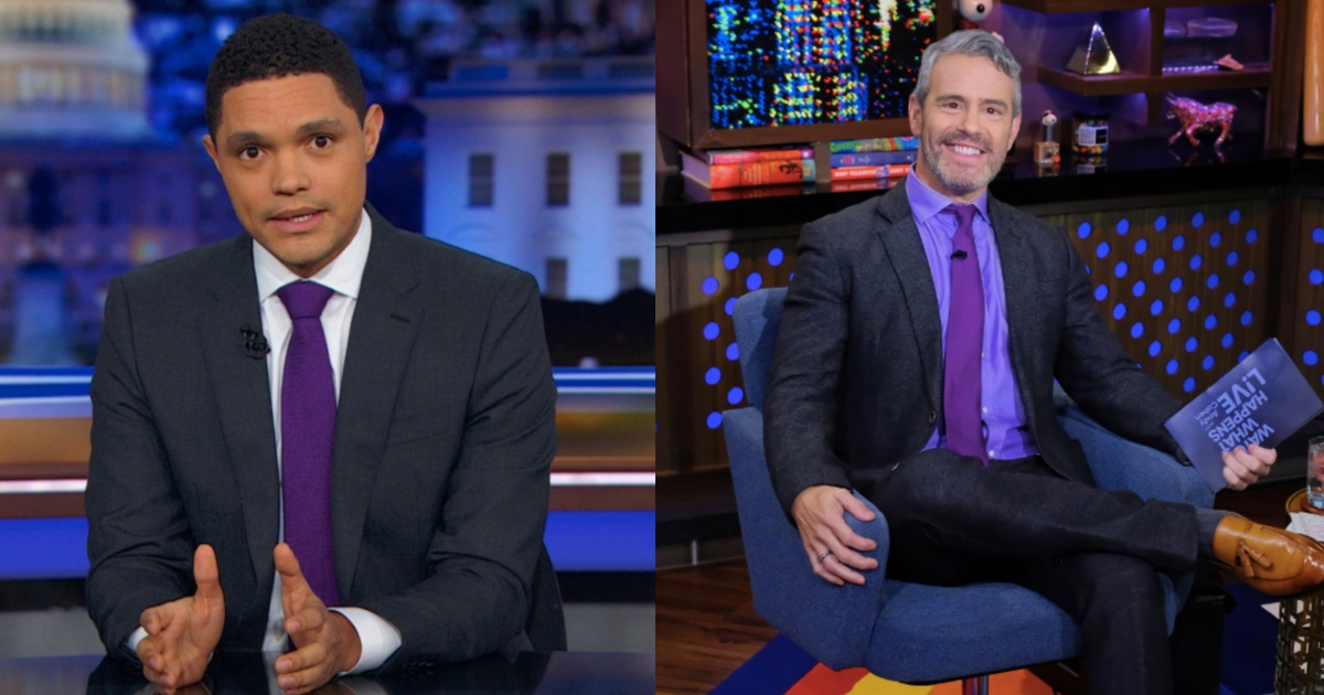 Talk Shows & Late Night Shows go purple and stand against bullying on