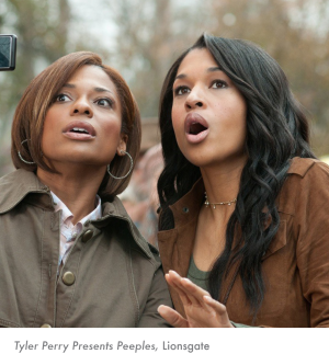 Tyler Perry Presents Peeples, Lionsgate