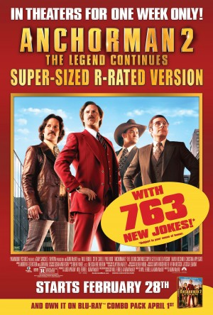 Anchorman 2 Super-Sized Version, Paramount