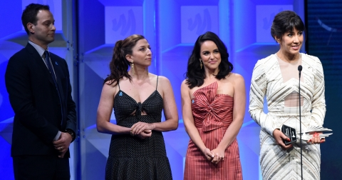 Stephanie Beatriz gives powerful speech on bi representation at the 29th  Annual GLAAD Media Awards in Los Angeles