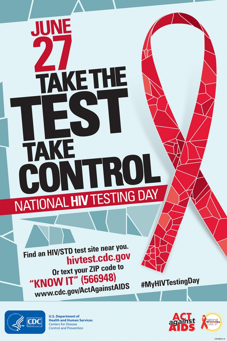 Today Is Quot National Hiv Testing Day Quot Take The Test Take