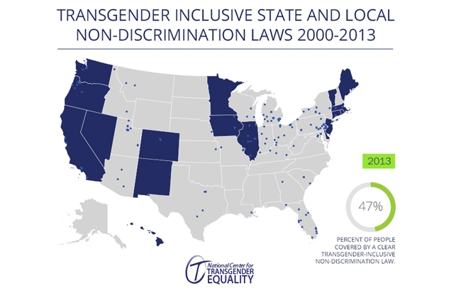Discriminatory bills across the country would punish transgender people using public bathrooms for Transgender bathroom laws by state