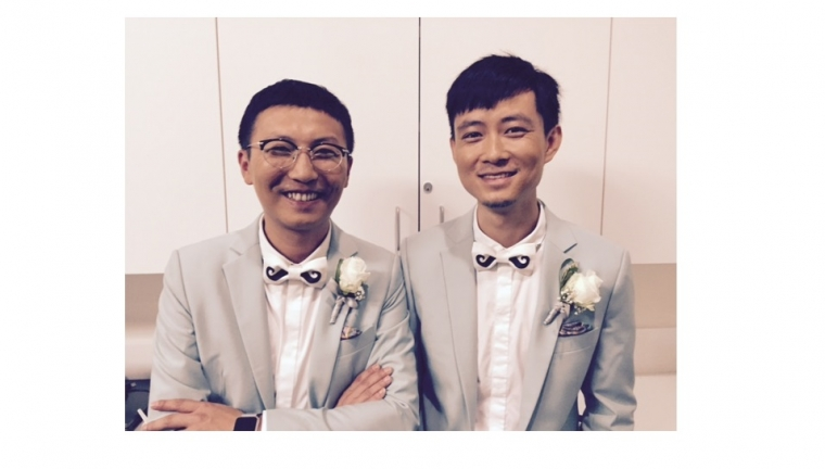 PHOTOS: Chinese same-sex couples married in West Hollywood | GLAAD