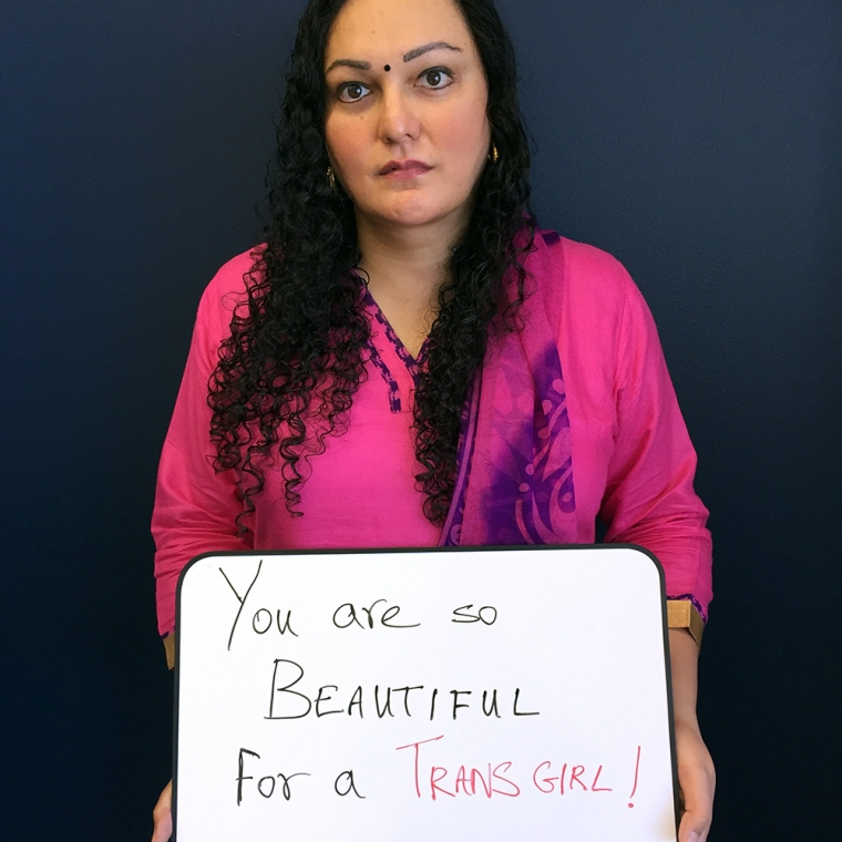 Glaad Launches Trans Microaggressions Photo Project Transwk Glaad