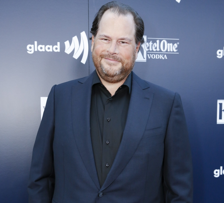 VIDEO: Salesforce Chairman and CEO Marc Benioff honored in ...