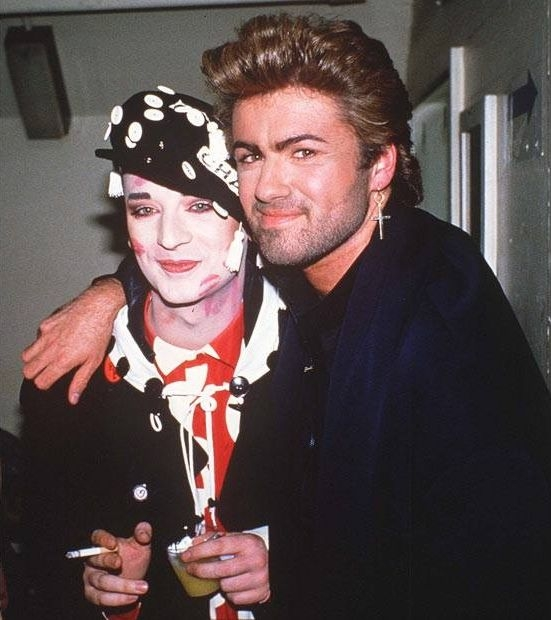 Boy George and George Michael