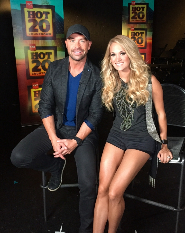 Cody Alan and Carrie Underwood