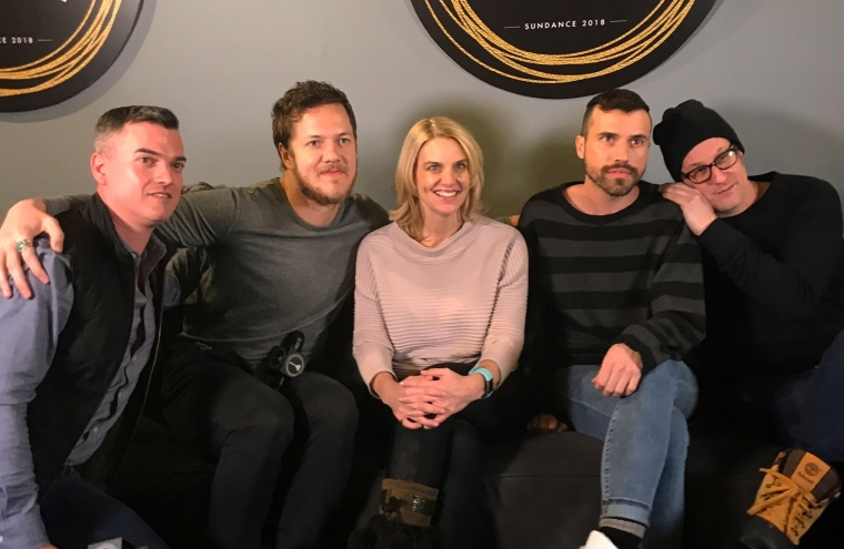 Imagine Dragons and GLAAD at Sundance 2018, Believer