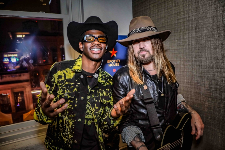 Lil Nas X and Billy Ray Cyrus (Credit: Derrek Kupish)