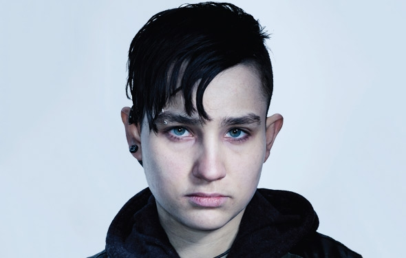 "Bex Taylor-Klaus makes her television debut this weekend on the third season of AMC's murder mystery drama The Killing as Bullett, a ""tough scrappy lesbian ..."