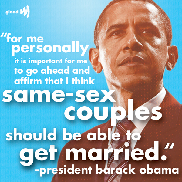 Important supporters of gay marriage