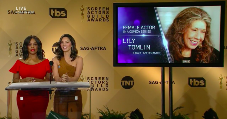 Olivia Munn SAG Awards noms Niecy Nash