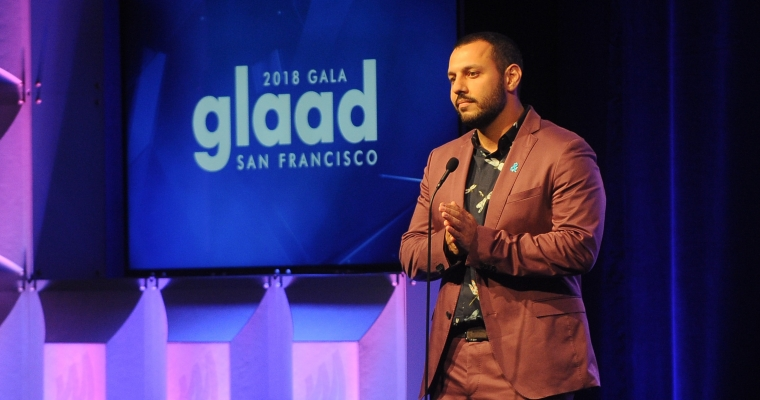 Mathew Shurka at the 2018 San Francisco Gala