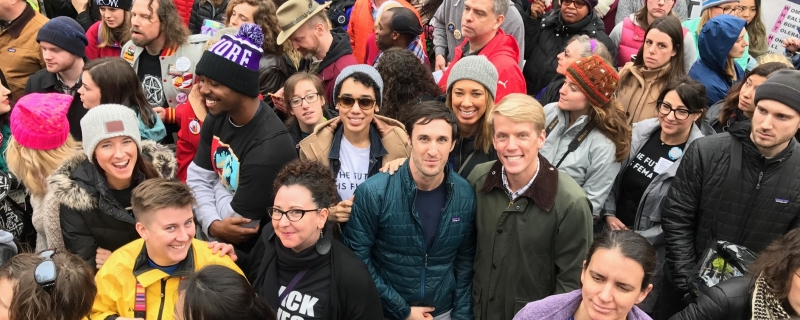 Photos: GLAAD at The Women's March on Washington, throughout America and around the world