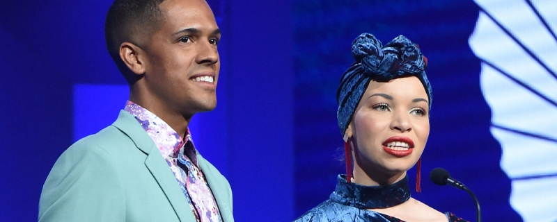 Pulse Survivor Brandon Wolf and Queer Muslim Activist Blair Imani call out Tucker Carlson at the GLAAD Media Awards