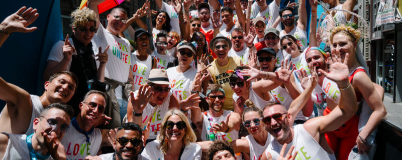 Hundreds Join GLAAD in Historic NYC Pride March during WorldPride in New York
