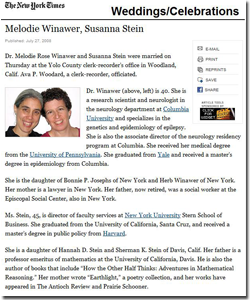 Announcing Equality: Melodie Winawer & Susanna Stein | GLAAD