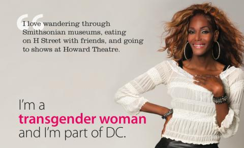 Dc launches groundbreaking transrespect campaign glaad - Transgender discrimination bathroom ...