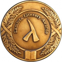 Lambda Literary Awards Medal