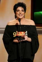 Liza Minnelli at GLAAD Awards