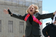 Edie Windsor at Supreme Court