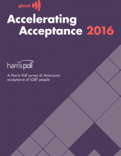 GLAAD Accelerating Acceptance 2016